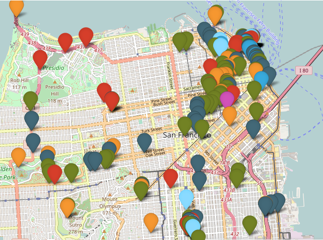 Noise Map of the Bay Area